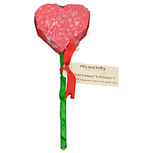 Buy Reg & Ruby Rawhide Dog Lolli-Pup, Heart Online at johnlewis.com