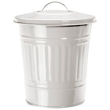Buy Garden Trading Mini Bin, Chalk, 10.5L Online at johnlewis.com