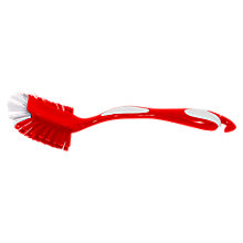 Buy John Lewis Dish Brush, Red Online at johnlewis.com