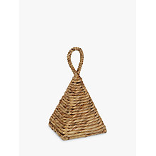 Buy John Lewis Water Hyacinth Pyramid Doorstop Online at johnlewis.com