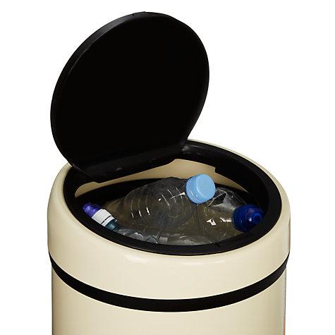 Buy John Lewis Touch Top Bin, 40L Online at johnlewis.com