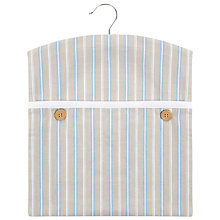 Buy John Lewis Classic Blue Stripe Peg Bag Online at johnlewis.com