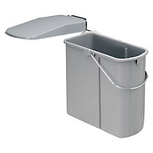 Buy Wesco Built In Slim Kitchen Bin, 19L Online at johnlewis.com
