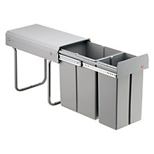 Buy Wesco Built In Bio-Double Bin, 30L Online at johnlewis.com