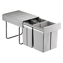 Buy Wesco Built In Bio-Treble Bin, 40L Online at johnlewis.com