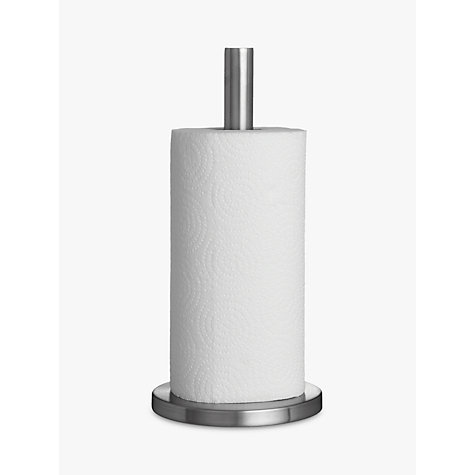 Buy John Lewis Kitchen Roll Holder, Stainless Steel Online at johnlewis.com