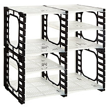 Buy Flexi Racks 8 Shelf Pack Online at johnlewis.com