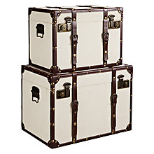 Buy John Lewis Storage Trunks, Set of 2 Online at johnlewis.com