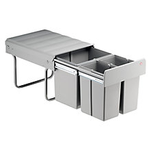 Buy Wesco Built In Trio Master Bin, 32L Online at johnlewis.com