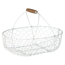 Buy John Lewis Maison Oval Wire Basket Online at johnlewis.com