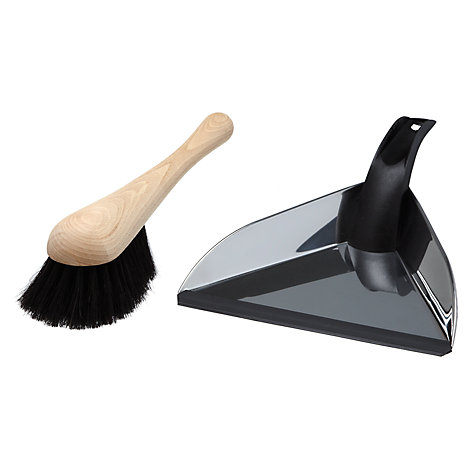 Buy John Lewis Brooklyn Dustpan and Brush Set Online at johnlewis.com