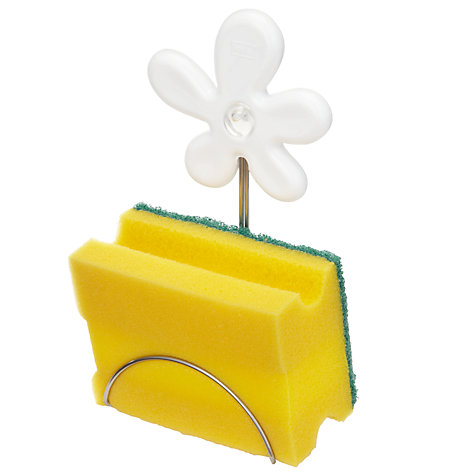 Buy koziol April Flower Sponge Holder, White Online at johnlewis.com