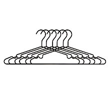 Buy John Lewis Brooklyn Wire Hangers, Set Of 6, Black Online at johnlewis.com