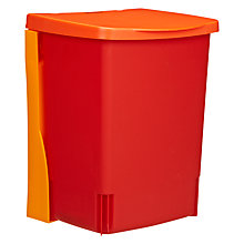 Buy Brabantia Binny Wall Mounted Waste and Storage Bin, 10L Online at johnlewis.com