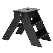 Buy Garden Trading Folding Step Stool, Black Online at johnlewis.com