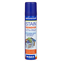Buy De-Solv-it Universal Stain Remover Spray, 100ml Online at johnlewis.com