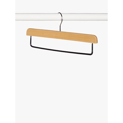 Buy John Lewis Drop Bar Hanger, FSC-certified (Beech), Pack of 3 Online at johnlewis.com