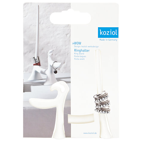 Buy Koziol Wow Dog Ring Holder, White Online at johnlewis.com