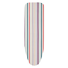 Buy John Lewis Candy Stripe Ironing Board Cover Online at johnlewis.com