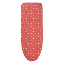 Buy John Lewis Coral Polka Dot Ironing Board Cover Online at johnlewis.com