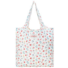 Buy Cath Kidston Foldaway Shopper, Linen Sprig Online at johnlewis.com