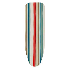 Buy John Lewis Scandi Stripe Ironing Board Cover, Red Online at johnlewis.com