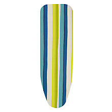 Buy John Lewis Scandi Stripe Ironing Board Cover, Yellow Online at johnlewis.com