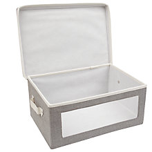 Buy John Lewis Fusion Storage Box with Viewing Window Online at johnlewis.com