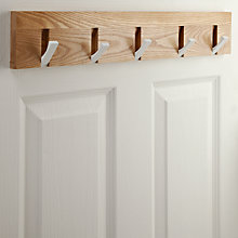 Buy House by John Lewis Flip Hook Rack Online at johnlewis.com