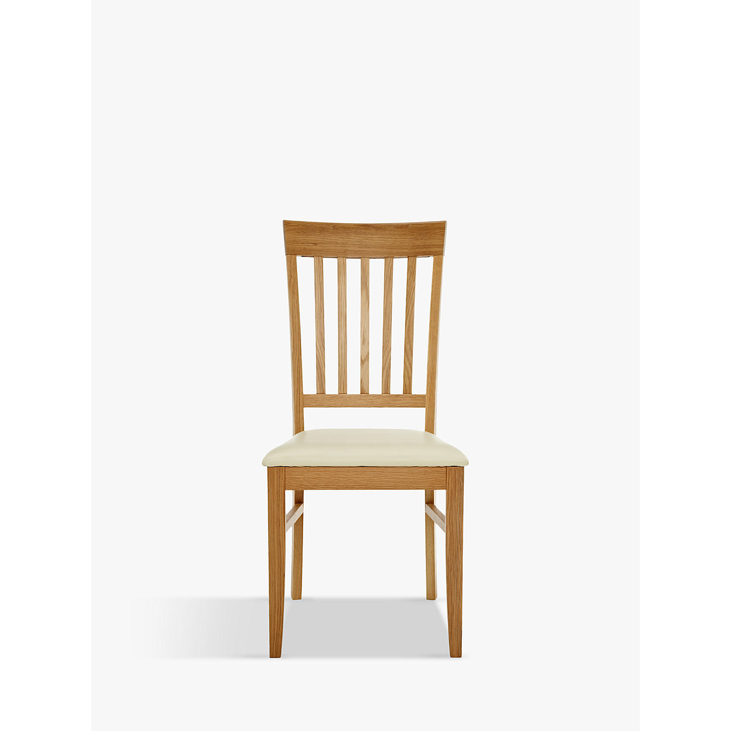 John lewis oak dining chairs wood