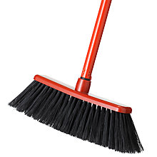 Buy House by John Lewis Broom, Red Online at johnlewis.com