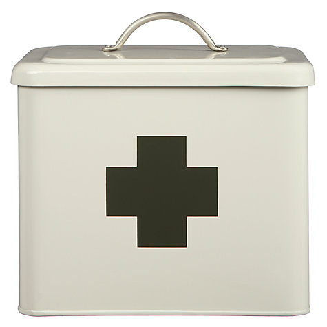Buy Garden Trading First Aid Box, Chalk Online at johnlewis.com