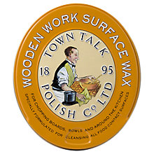 Buy Town Talk Renowned Orange Wood Wax, 150g Online at johnlewis.com