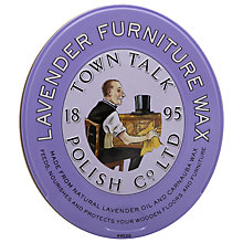 Buy Town Talk Lavender Furniture Wax, 150g Online at johnlewis.com