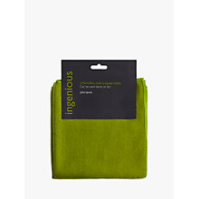 Buy John Lewis Ingenious Microfibre Cleaning Cloths, Pack of 2 Online at johnlewis.com