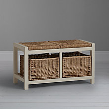 Buy Garden Trading Storage Seat, Chalk Online at johnlewis.com