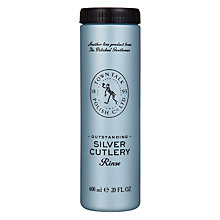 Buy Town Talk Outstanding Silver Cutlery Rinse, 600ml Online at johnlewis.com