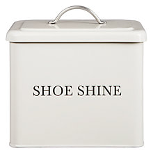 Buy Garden Trading Shoe Shine Box, Chalk Online at johnlewis.com