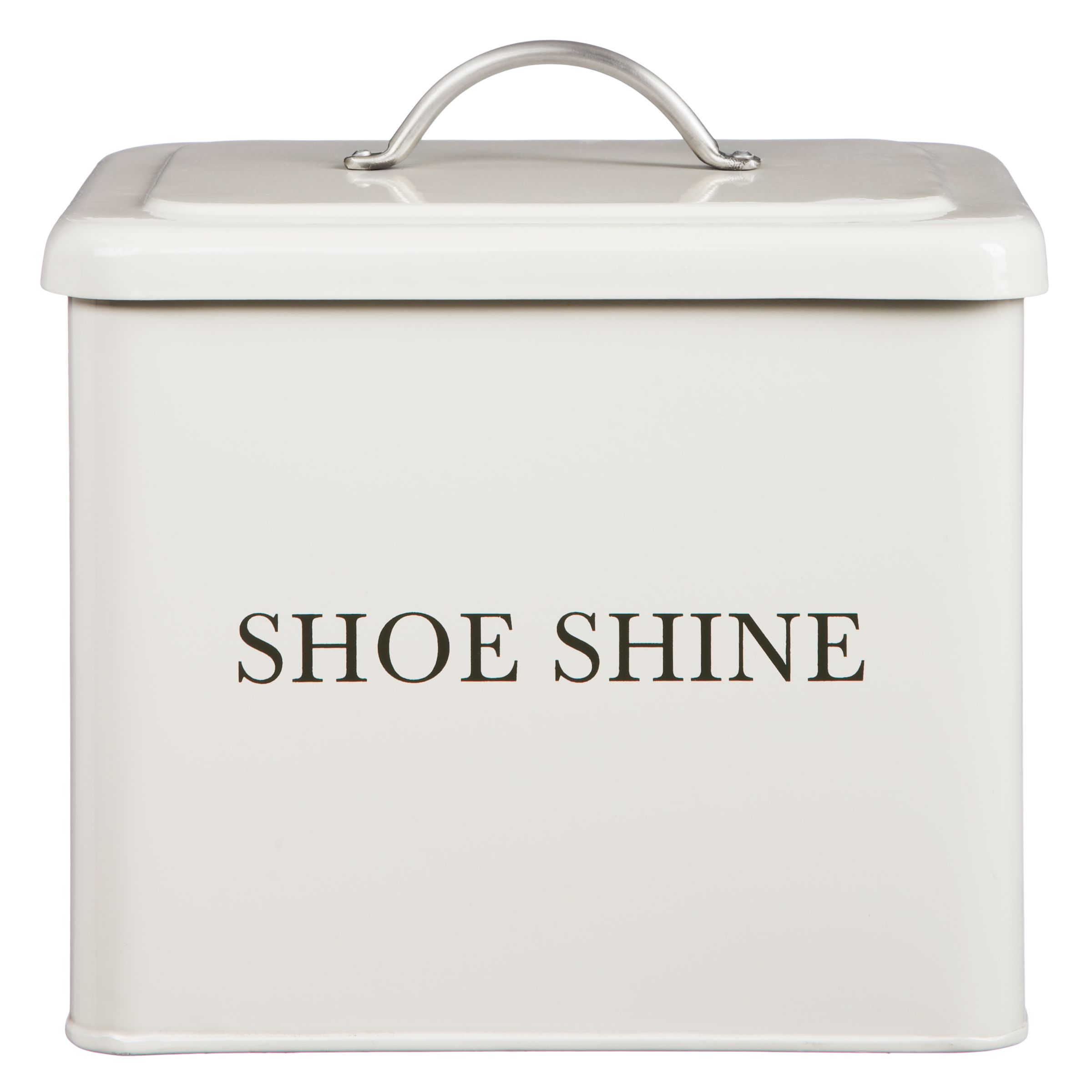 Garden Trading Garden Trading Shoe Shine Box, Chalk