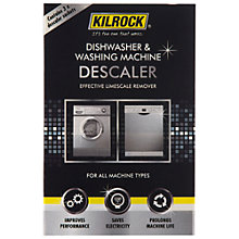 Buy Kilrock Large Appliance Descaler, 3 x 50g Online at johnlewis.com