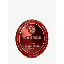 Buy Town Talk Luxury Furniture Wax, 150g Online at johnlewis.com