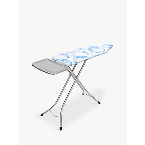 buy brabantia perfectflow ironing board with solid steam iron rest l124 x w38cm john lewis. Black Bedroom Furniture Sets. Home Design Ideas
