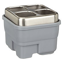 Buy John Lewis Ingenious Dual Sink Caddy, Grey Online at johnlewis.com