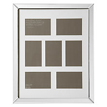 "Buy John Lewis Multi-aperture Mirror Photo Frame, 7 Photo, 4 x 6"" (10 x 15cm) Online at johnlewis.com"