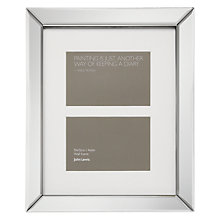 "Buy John Lewis Multi-aperture Mirror Photo Frame, 2 Photo, 4 x 6"" (10 x 15cm) Online at johnlewis.com"