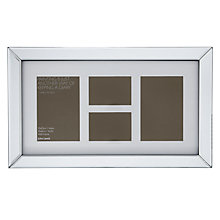 Buy John Lewis Multi-aperture Mirror Photo Frame, 4 Photo Online at johnlewis.com