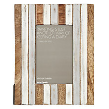 "Buy John Lewis Coastal Table Photo Frame, Multi, 4 x 6"" (10 x 15cm) Online at johnlewis.com"