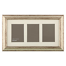 Buy John Lewis Multi-aperture Amelia Photo Frame, Champagne, 3 Photo Online at johnlewis.com