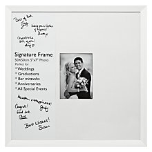 "Buy John Lewis Signature Frame, 5 x 7"" (13 x 18cm) Online at johnlewis.com"