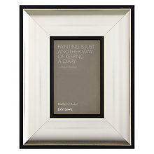 "Buy John Lewis Sloane Photo Frame, Silver, 4 x 6"" (10 x 15cm) Online at johnlewis.com"